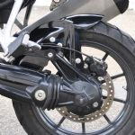 Tiger Explorer 1200 Rear Hugger (GRP) Spoked Wheel Models.